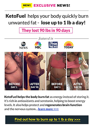 Keto Fuel to Drop Unwanted Pounds