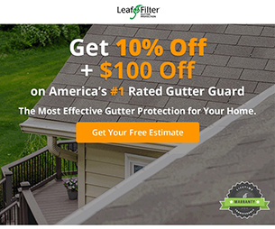 Protect Your Gutters Today - $250 Off